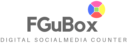 FGuBox Real Time Social Media Compteur